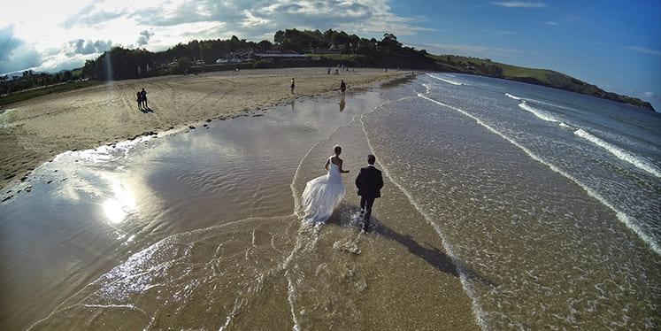 boda aérea Javier Rosendo